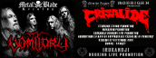 8) Crisalide live with Vomitory for Irukandji Booking Live Promotion